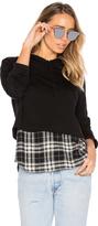 Generation Love Chester Plaid Sweatshirt