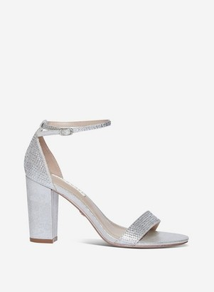 Dorothy Perkins Womens Showcase Silver 'Sweet' Sandals, Silver