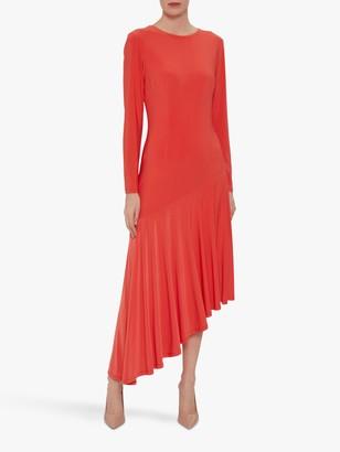 Gina Bacconi Kayra Concertina Hem Midi Dress