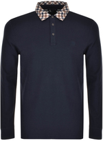 Aquascutum London Nathan Polo T Shirt Navy
