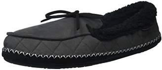 Dearfoams Men's MFS Moc with Whipstitch