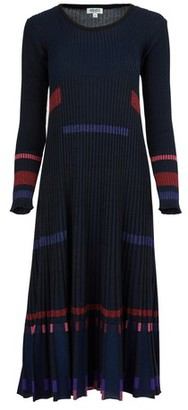 Kenzo Pleated rib dress