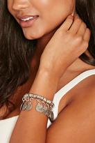 Forever 21 FOREVER 21+ Etched Coin Bracelet