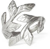 Laurèl Chupi Wrap Your Laurels Around Me Ring In Silver