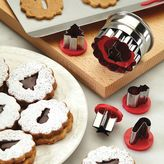 Cake BossTM Decorating Tools 6-pc. Holiday Linzer Cookie Cutter Set