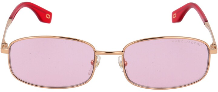 Thumbnail for your product : Marc Jacobs Rectangular Frame Sunglasses