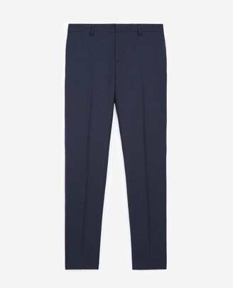 The Kooples Navy blue wool suit trousers
