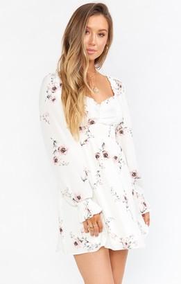 Show Me Your Mumu Bellarosa Mini Dress