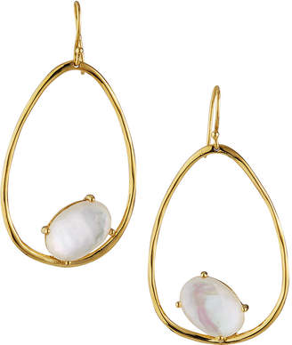 Ippolita 18K Rock Candy Large Suspension Earrings in Mother-of-Pearl