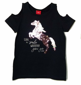 S'Oliver Girls' 403.10.004.12.130.2037923 T-Shirt