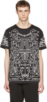 Marcelo Burlon County of Milan Black Salomon T-shirt