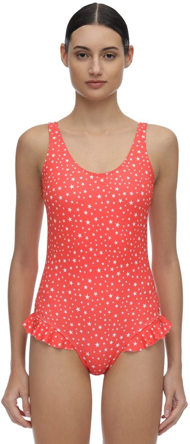 Thumbnail for your product : VERDELIMON Virginia Ruffled One Piece Swimsuit