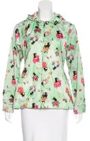 Love Moschino Printed Hooded Jacket