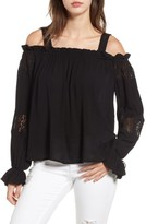Band of Gypsies Women's Cold Shoulder Top