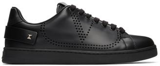 Valentino Black Garavani VLogo Backnet Sneakers