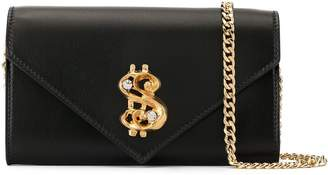 Moschino dollar sign wallet-on-chain