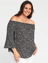 Old Navy Relaxed Plus-Size Off-the-Shoulder Top