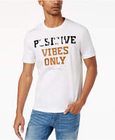 Sean John Men's Big & Tall Positive Vibes T-Shirt