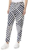 F&F Multi Stripe Tapered Trousers, Women's