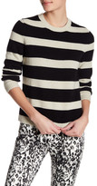 The Kooples Striped Wool Blend Sweater