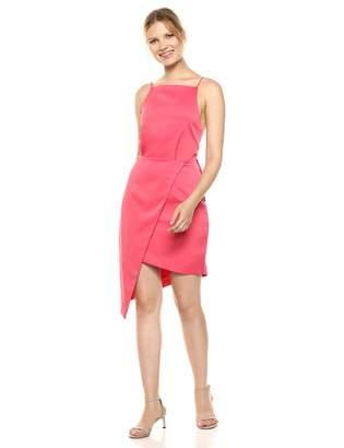 Elliatt Women's Apparel Women's Decades Sleeveless Blouson WRAP Short Dress
