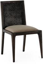 One Kings Lane Caroline Rattan Side Chair, Smokey Brown