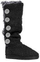 Muk Luks Malena Women's Crochet Tall Boots
