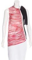 Prada Striped Sleeveless Top