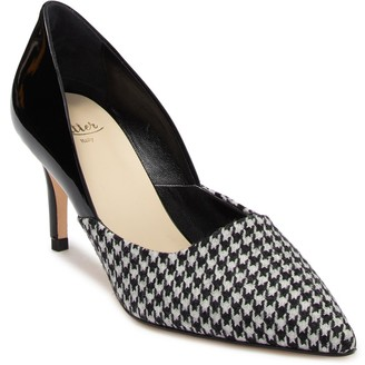 Butter Shoes Esty Leather Houndstooth Pump