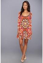 Mara Hoffman Trapeze Dress (Suzani Poppy) - Apparel
