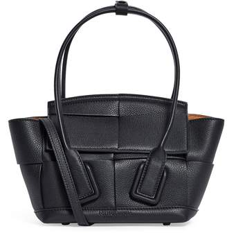 Bottega Veneta Mini Leather Arco 29 Top-Handle Bag