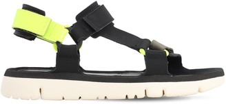 Camper Leather Wedge Sandals