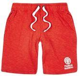River Island MensRed Franklin & Marshall print jersey shorts