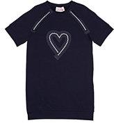 Lanvin COTTON-BLEND IMITATION-PEARL-EMBELLISHED DRESS