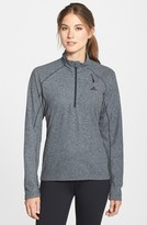 adidas 'Reachout' Half Zip Hiking Top