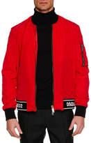 DSQUARED2 Men's Contrast-Trim Sports Jacket