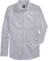 Armani Exchange Men's Foulard Pattern Shirt