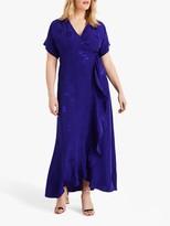 Studio 8 Phoebe Jacquard Wrap Maxi Dress, Ultra Violet