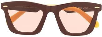 Karen Walker Alexandria square sunglasses