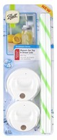 Ball Regular Mouth Lid Topper with Straws - Set of 4