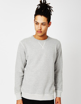 Lee L80L Regular Fit Crew Sweatshirt Grey