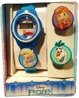 Disney Frozen Girls LCD Watch with Slide On Interchangeable Characters