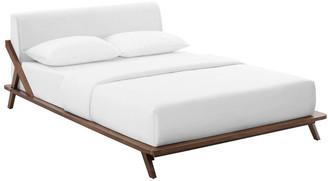 Modway Luella Queen Upholstered Platform Bed
