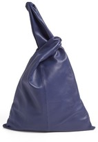 Creatures of Comfort Large Nappa Leather Malia Bag - Blue