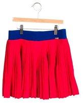 Junior Gaultier Girls' Pleated Knee-Length Skirt w/ Tags