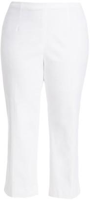 Nic + Zoe, Plus Size Everyday Crop Polished Wonderstretch Pants