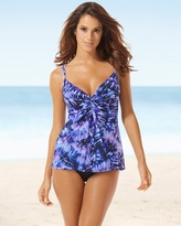 Soma Intimates Miraclesuit Love Knot Swim Tankini DD Cup Top
