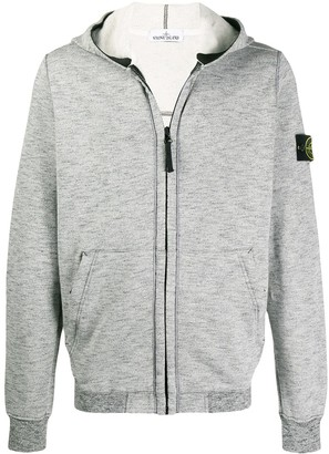 Stone Island logo knitted hoody
