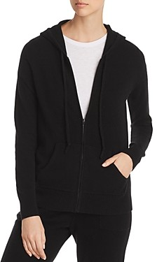 C by Bloomingdale's Cashmere Zip Hoodie - 100% Exclusive