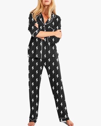 Stripe & Stare Lightning Pajama Set